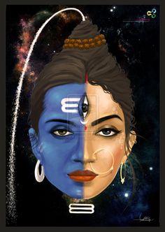 shivashakti. by swarooproy