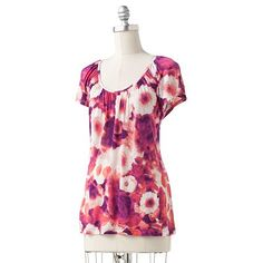 Just bought this at Kohls!!! So pretty for Spring!!