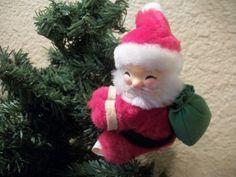 ClipOn Stuffed PlushSanta Claus Christmas Tree by Holiday365