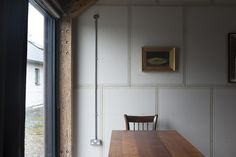 Exposed ducting \\ Rural Office for Architecture