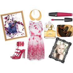 Pretty in Pink by timeandcouture on Polyvore