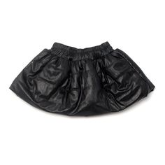Black Quilted Skirt by OMAMImini