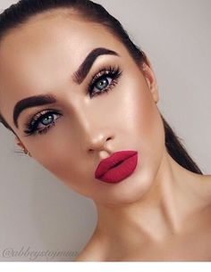 Sweet make-up ideas you might want to try . - Makeup Ideen - Make Up Glam Makeup, Makeup Inspo, Bridal Makeup, Wedding Makeup, Makeup Inspiration, Hair Makeup, Makeup Ideas, Neutral Makeup, Makeup For Fair Skin