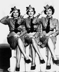 """Patty Andrews, the last survivor of the three singing Andrews sisters, has died in Los Angeles at age 94. She's the sister in the middle - """"lead singer and chief clown."""" http://www.legacy.com/ns/obituary.aspx?n=patty-andrews=162748817"""