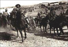 Pancho Villa despues de la batalla de Ojinaga