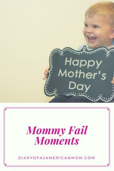 We love our children but we have all had those moments when we believe we have failed them. Share my experiences as we navigate motherhood together
