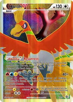 Ho-oh Y Full Art fake card by DXM147 on deviantART