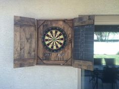 Dart Board Case | Do It Yourself Home Projects from Ana White