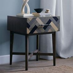 NEW! Parquetry Nightstand from west elm