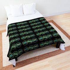 Retro Videos, College Dorm Rooms, Square Quilt, Colorful Backgrounds, Quilt Patterns, Comforters, Duvet Covers, Neon, Bath