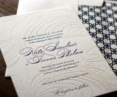 Letterpress Bees - How to get this? Emboss/Deboss? :  wedding debossing diy embossing letterpress stationery Letterpress 2