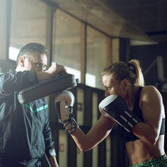 Kick your butt into gear with this kickboxing workout routine. These intense exercises will get your body in shape and burn fat. Sculpt your body and build muscle with this fun workout.