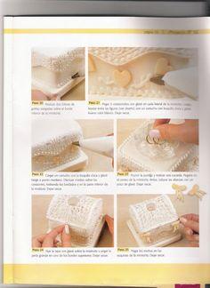 шкатулка - Мастер-классы по украшению тортов Cake Decorating Tutorials (How To's) Tortas Paso a Paso