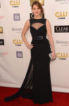 Jennifer Lawrence in Prabal Gurung (Critics' Choice Movie Awards)