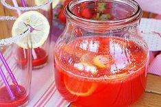 Λεμονάδα Φράουλας Strawberry Lemonade, Oreos, Food, Essen, Meals, Yemek, Eten, Strawberry Limeade