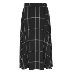 Dinah Window Pane Skirt | Clothing | New Arrivals | Collections | L.K.Bennett, London