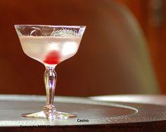 Casino - gin, orange bitters, lemon juice, maraschino cherry