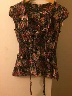 Womens Flowered Blouse #Unbranded #Blouse #Casual