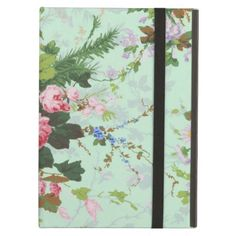 Vintage mint shabby floral chic roses rose flowers iPad folio case in each seller & make purchase online for cheap. Choose the best price and best promotion as you thing Secure Checkout you can trust Buy bestHow to          Vintage mint shabby floral chic roses rose flowers iPad foli...