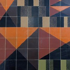 theimportanceofbeingmodernist:  Detail from Ceramic Mural by Gordon Cullen, Coventry. © 2014 Alex James Bruce The Importance of Being Modernist :Facebook|Twitter|Instagram