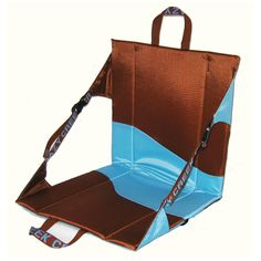 Crazy Creek Products Original Chair (Cocoa/Blue)