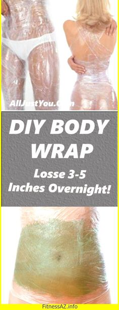 If you're looking to loose a couple of inches before a big event or you want a more toned stomach, a DIY body wrap is just the thing you're looking for! Body wraps are usually done at salons, but t…