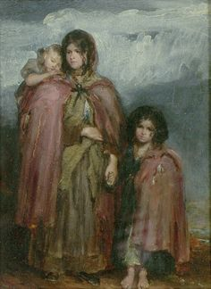 Faed, Thomas (1826-1900) - A Peasant Family (Ashmolean Museum of Art and Archeology, Oxford University)