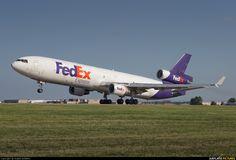 FedEx MD-11F (N524FE) rotates at Memphis Int - photo by Angelo Bufalino