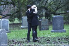 I'm sorry but I hope Regina was very far away when this reunion took place a few feet away from her soulmates dead body.