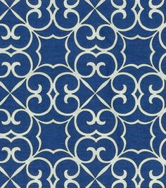 45'' Home Essentials Fabric Swavelle Millcreek ElywnPanorama Indigo - fabric for vintage sofa in sunroom