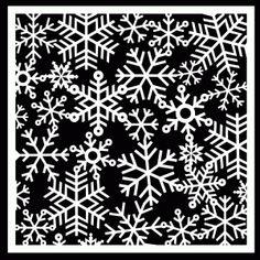 Snowflake Background by Bird