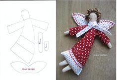 anjo de tecido - Pesquisa Google