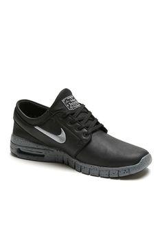 e4095e037 Nike SB Stefan Janoski Max L NYC Shoes - Mens Shoes - Black