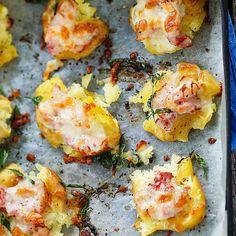 Potato Dishes, Fodmap, Baked Potato, Nom Nom, Food And Drink, Tasty, Favorite Recipes, Snacks, Meat