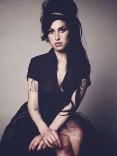 Amy Winehouse 1983 - 2011. British Jazz and Soul singer. She died at the age of 27. We miss her beautiful music and voice. http://www.thisreviewer.com/