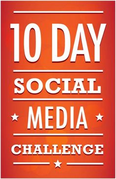 Are you overloaded with all this great social media information out there? And still, you're lost and can't figure out how to add everything into you're already crazy busy day. The 10 Day Social Media Challenge starts on JAN 6th - sign up and learn the social media skills to make your time online efficient and effective.