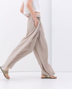 Image 4 of PALAZZO PANTS from Zara