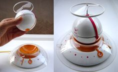 Running into trouble with the 'snooze' button? Get this: Flying Alarm Clock by Ena Macana
