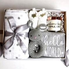 Baby Shower Gift Basket, Baby Gift Box, Cute Baby Gifts, Baby Baskets, Baby Box, Gifts For Mom, Men Gifts, Gift For Baby Girl, Baby Shower Presents