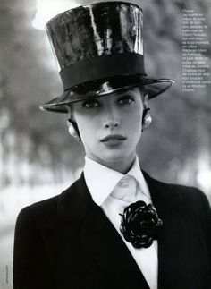 Christy Turlington | Photography by Arthur Elgort | For Vogue Paris | September 1991