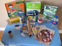 Science Table: Recycling   Stir the Wonder