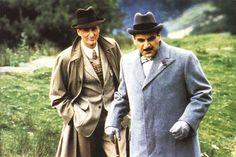 Captain Hastings & Hercule Poirot