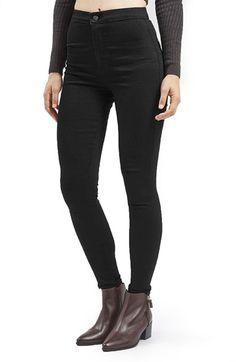 Topshop 'Joni - Hold Power' High Rise Skinny Jeans (Petite)