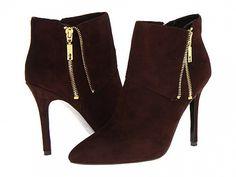Ivanka Trump Mina in Tartufo Platform Boots, High Heel Boots, High Heels, Buy Boots, Funky Shoes, Ivanka Trump, Pretty Shoes, Brown Shoe, Dress With Boots