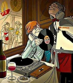 Vinyl record music Led Zeppelin