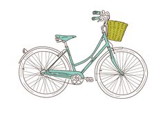 blue bike free printable It's so cute and so much like my first two-wheeler. <3