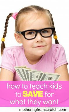 Usually, when our kids want to buy something, they want it NOW. But the virtues of patience, hard work and perseverance can be taught when we require them to earn the things they want. This post gives a practical and effective way for helping your kids save gradually over time, which keeping the goal in sight.