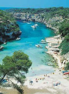Cala Pi in Mallora, Spain