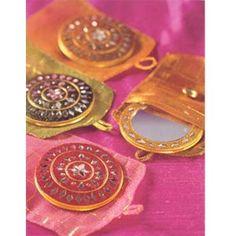 Nice wedding favors! Indian mirror