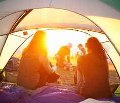#AnthonyHorovitz - #camping is my passion.